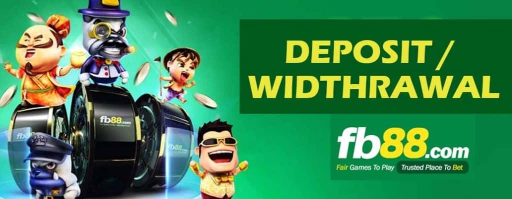 Hướng dẫn đăng ký, gửi tiền và rút tiền tại FB88