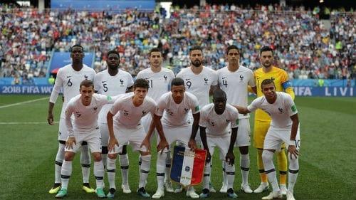 Tổng quan và tường thuật trực tiếp trận Uruguay - Pháp tứ kết World Cup 2018.