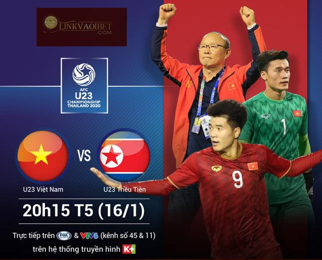 U23 VN vs U23 Triều Tiên