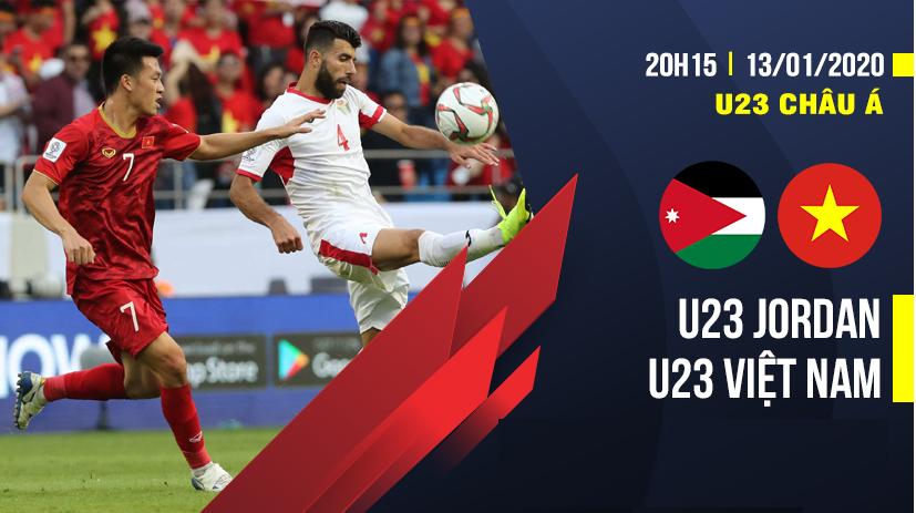 U23 Việt Nam vs U23 Jordan