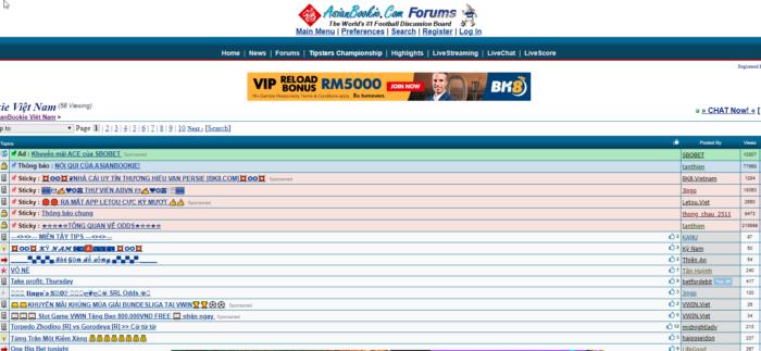 Asianbookie Forums